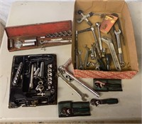 Socket Wrenches, Adjustable Wrenches, and Others