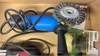 Angle Grinder and Soldering Gun