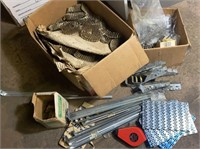 Joist Hangers, Nails, Rolls of Roofing Nails and