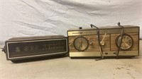 Philco and General Electric Radio Alarm Clocks