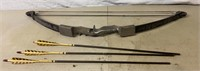 Timberwolf Indian Compound Bow and Arrows