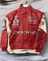 New Jeff Hamilton Dodge Leather Racing Coat