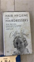 1930s Hair Dresser Books, Notes and Diploma.