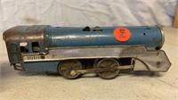 Vintage Tin Wind-up Trains;
