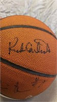 Basketball Autographed by Indiana Pacers