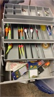 Tackle Boxes, Fishing Rod, and Fishing Lurers