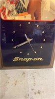 Snap-on Wall Clock