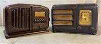 Truetone and Philco Bakelite Tube Radios