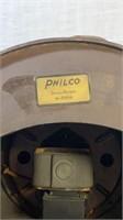 Philco Tombsone Tube Radio