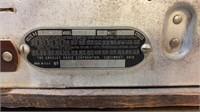 Crosley Super 8 Wood Case Tube Radio
