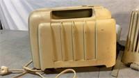Bakelite Tube Radio and Bakelite Case