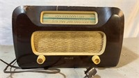 Philco Wooden Case Tube Radio