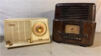 Stewart Warner and General Electric Tube Radios
