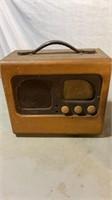 Detrola Marine Radio and Other Tube radio