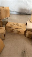 US Army and US Navy Radio Tubes and Parts