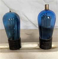 Crosley 551 and Arcturus No. 127 Radio  Tubes