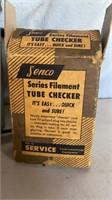 Senco Filament Tube tester and Baso Test Kit