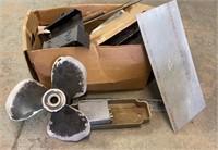 Box of Scrap Metal