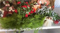 Silk Flowers and Wreaths
