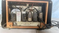 Temple and Firestone Tube Radios