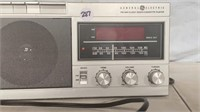 General Electric FM/AM/Clock Radio/Cassette