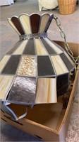 Stain Glass Light Fixture