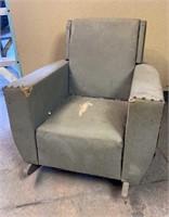 Childs Vinyl Rocking Chair
