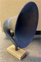 Magnavox Horn Speaker on Wooden Stand