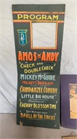 Amos and Andy Poster and Card