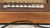 Philco Wooden Case Tube Radio