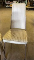 Mid-Century Modern Vinyl Covered Chairs