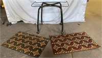 Rolling Cart and Door Mats