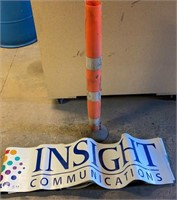 Insight Communications Magnetic Signs and Caution