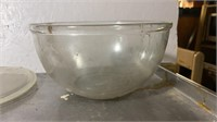 Nesting Mixing Bowls, Crystal Bowl, & Cut glass
