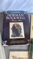 Normal Rockwell Books, Calendar, and playing cards