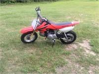2008 Honda CRF50F Motorcycle