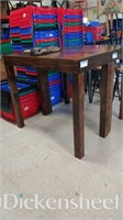 Tall wood table as photographed,