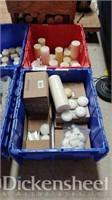 (2) Tubs of assorted floating candles