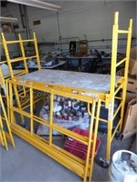 "Pro-Jax multi-purpose scaffold 28""x66"" w/ sides"