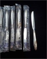 12 Sterling Silver Prelude Pattern Knives