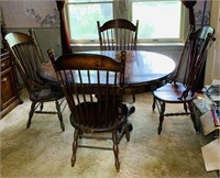 1978 Table and Chairs, Matches Cabinets
