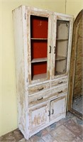 Old Kitchen Cabinet, looks like original paint