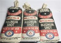 3 Magnum Shot Bags, (full of Sand)