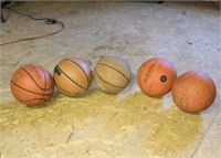 Lot of Basketballs