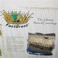 4 Fast Grass Ultimate Natural Camo, Looks New