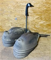 12 Carry Lite Geese Body Decoys, Made in Italy