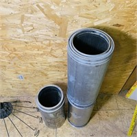 """(3) 18"""" long Sections of  6"""" Insulated Pipe"""