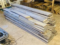 """Nice Pile of old Barn Wood, most are 5.5"""" wide"""