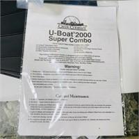 U-Boat 2000 Float Tube for Fishing, looks new