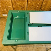 Portable Fish Cleaning Station, Folds up to carry